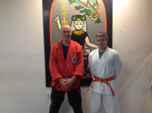 Orange Belt promotion
