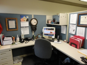 Now that I'm no longer going to be spending so much time in this cubicle...
