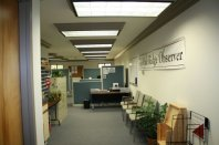 Here's what the new office looked like when you walked in.