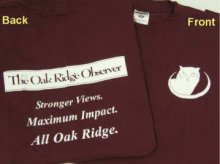 Our first T-shirts. You've got to market!
