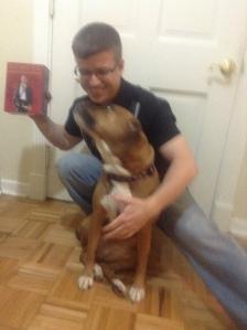 image_2 crouching with dog