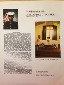 LCPL Foster